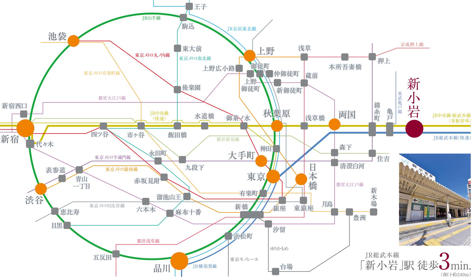 総武 線 路線 図